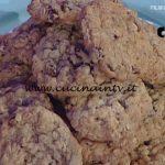 La Prova del Cuoco - Biscotti con fiocchi di avena ricetta Anna Moroni