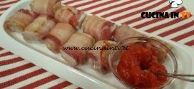 Cotto e mangiato - Bocconcini al bacon croccante con agrodolce ricetta Tessa Gelisio