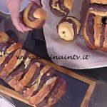 La Prova del Cuoco - Brioche a fisarmonica bianca e nera ricetta Natalia Cattelani