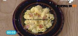 La Prova del Cuoco - Mezze maniche alla carbonara ricetta Cesare Marretti