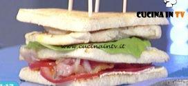 La Prova del Cuoco - Club sandwich classico ricetta Cesare Marretti