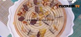 La Prova del Cuoco - Crostata cachi e nocciola ricetta Guido Castagna