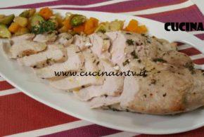 Cotto e Mangiato | Fesa di tacchino arrosto con verdure ricetta Tessa Gelisio