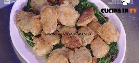 La Prova del Cuoco - Frittelle di carne con cicoria e uva passa ricetta Alessandra Spisni