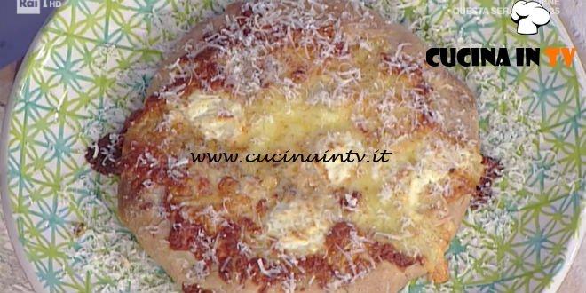 La Prova del Cuoco - Pizza ai 4 formaggi ricetta Gabriele Bonci