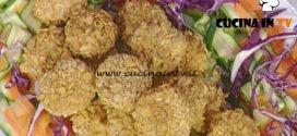 La Prova del Cuoco - Polpettine di pollo e corn flakes ricetta Luisanna Messeri