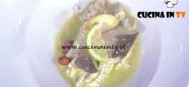 La Prova del Cuoco - Sogliola con funghi cardoncelli al forno ricetta Gianfranco Pascucci