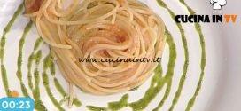 La Prova del Cuoco - Spaghetti al pomodoro con scalogno e basilico ricetta Francesca Marsetti