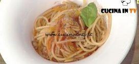 La Prova del Cuoco - Spaghetti alle vongole con pomodoro ricetta Natale Giunta