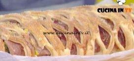La Prova del Cuoco - Strudel a rete con zucca coste e formaggella di capra ricetta Sergio Barzetti