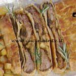 La Prova del Cuoco - Strudel di costine di maiale alle mele ricetta Andrea Mainardi