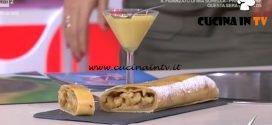 Detto Fatto - Strudel di mele ricetta Michel Paquier
