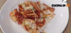 La Prova del Cuoco - Timballo di conchiglioni al ragù e mozzarella ricetta Renato Salvatori
