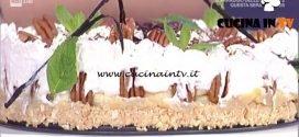 La Prova del Cuoco - Torta al dulce de leche e banane ricetta Andrea Mainardi