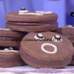 Detto Fatto - Biscotti al cioccolato con crema di nocciole ricetta Davide Comaschi
