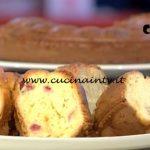 Domenica In - Ciambellone ricetta Benedetta Parodi