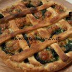Cotto e mangiato - Crescione rustico alle erbe ricetta Tessa Gelisio
