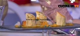 Detto Fatto - Crespelle con crema di zucca e topinambur ricetta Tommaso Arrigoni