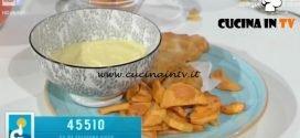 Domenica In - Fish and chips e maionese veloce ricetta Benedetta Parodi