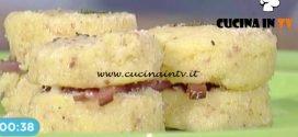 La Prova del Cuoco - Gnocchi di semolino con speck e formaggio ricetta Francesca Marsetti