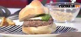 Domenica In - Hamburger all'italiana ricetta Benedetta Parodi
