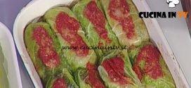 La Prova del Cuoco - Involtini di verza con prosciutto e fontina ricetta Sergio Barzetti