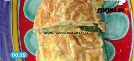 con acciughe e zucchine cotte nell'acqua di limone ricetta Cesare Marretti