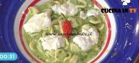 La Prova del Cuoco - Orecchiette con cime di rapa e burrata ricetta Cesare Marretti