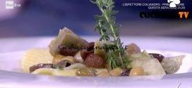 Detto Fatto - Paccheri con carciofi e ceci ricetta Tommaso Arrigoni