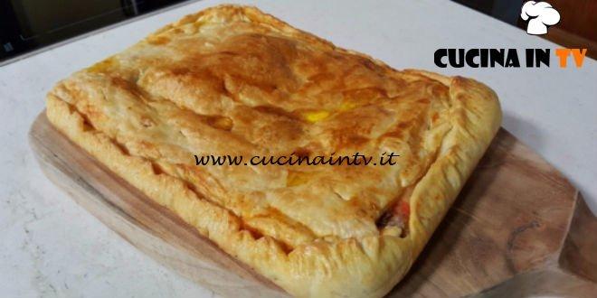 Cotto e Mangiato | Parigina con pomodoro prosciutto cotto mozzarella e alicette ricetta Tessa Gelisio