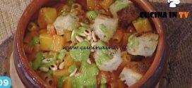 La Prova del Cuoco - Pasta e patate al pomodoro con pesto di rucola ricetta Diego Bongiovanni