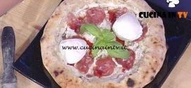 La Prova del Cuoco - Pizza con il cornicione ripieno di salame e ricotta ricetta Gino Sorbillo