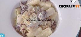 La Prova del Cuoco - Rigatoni con radicchio rosso anice stellato gorgonzola e noci ricetta Cesare Marretti