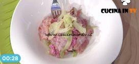 La Prova del Cuoco - Spatzle rossi con cavolo cappuccio e bacon ricetta Cesare Marretti