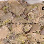 La Prova del Cuoco - Straccetti ai porri porcini e salsiccia ricetta Daniele Persegani