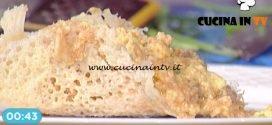 La Prova del Cuoco - Uova strapazzate al pomodoro con salamina e formaggio Piave ricetta Francesca Marsetti