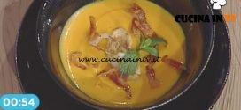 La Prova del Cuoco - Vellutata di carote e patate dolci ricetta Gian Piero Fava