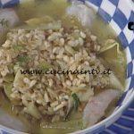 La Prova del Cuoco - Zuppa di cereali scampi e carciofi ricetta Natale Giunta