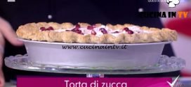 Detto Fatto - Torta di zucca ricetta Francesco Saccomandi