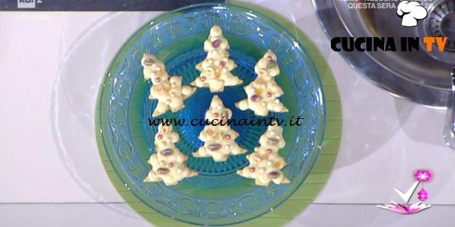 Detto Fatto - Albero di Natale dolce ricetta Gian Luca Forino