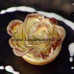 La Prova del Cuoco - Bottoncini di sfoglia con taleggio e radicchio e roselline di sfoglia con patate ricetta Gian Piero Fava