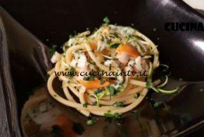 Cotto e Mangiato | Bucatini cacio pepe lime e capesante ricetta Tessa Gelisio