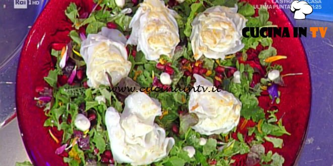 La Prova del Cuoco - Calamari arrosto con misticanza ricetta Gianfranco Pascucci