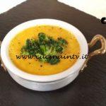 Cotto e mangiato - Crema di porri e zucca con broccoli croccanti ricetta Tessa Gelisio