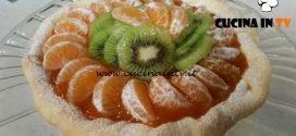 Cotto e mangiato - Crostata di mandarini e kiwi ricetta Tessa Gelisio