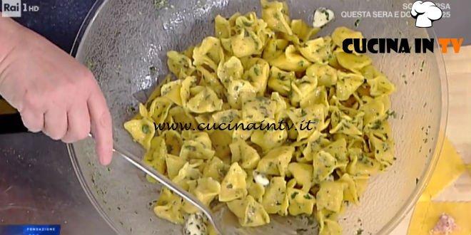 La Prova del Cuoco - Fagottini di cappone al burro aromatico ricetta Alessandra Spisni