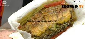 La Prova del Cuoco - Faraona farcita con carciofi e fontina ricetta Anna Moroni