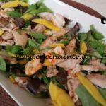 Cotto e mangiato - Insalata di pollo e gamberi allo zenzero ricetta Tessa Gelisio