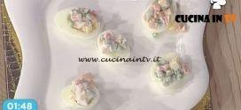 La Prova del Cuoco - Uova dello Zar ricetta Cesare Marretti