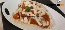 Cotto e mangiato - Lasagnette carasau pesto e mozzarelle ricetta Tessa Gelisio